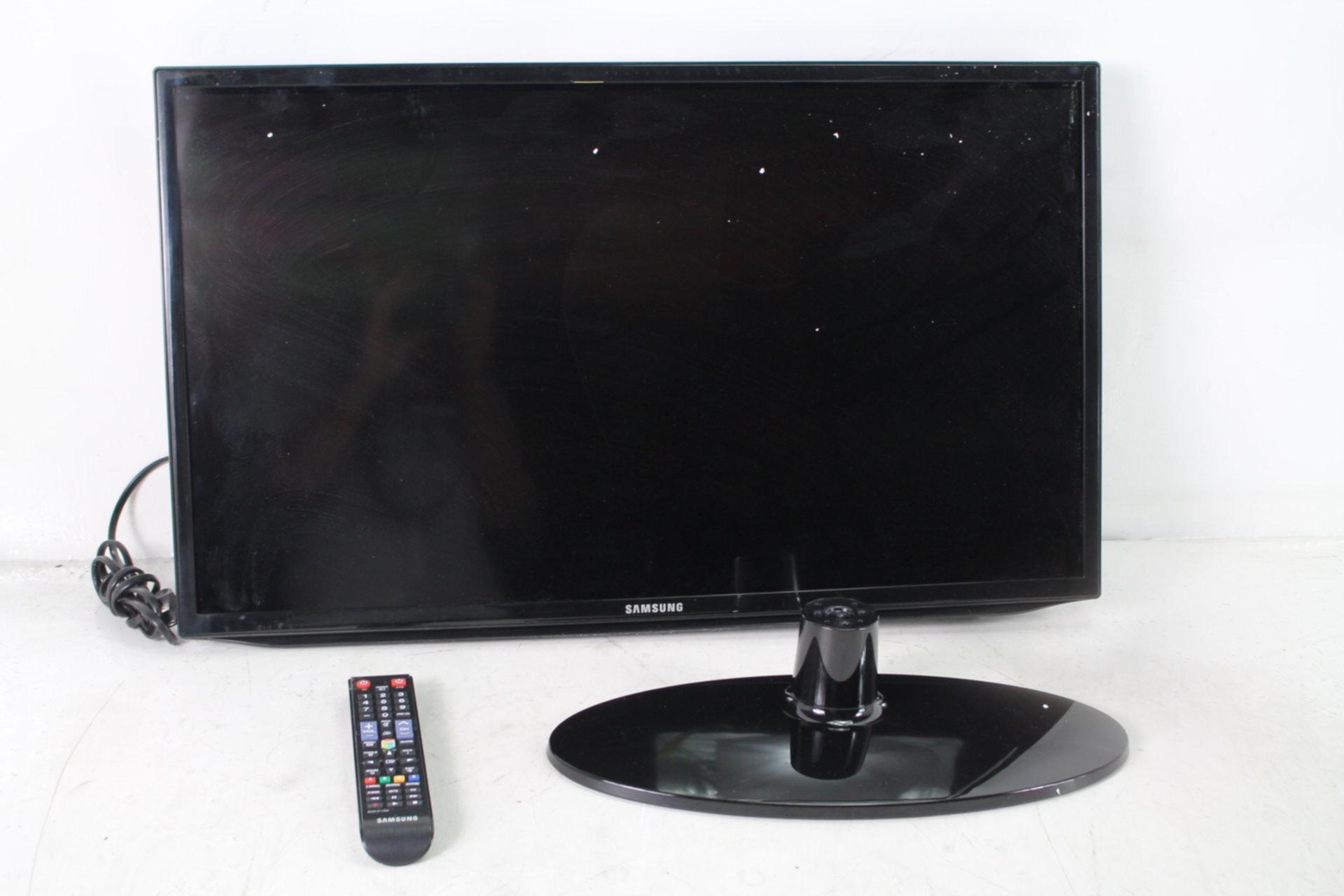 samsung 32h5203 32 inch 1080p smart led tv 2014 model for parts damaged screen ebay. Black Bedroom Furniture Sets. Home Design Ideas