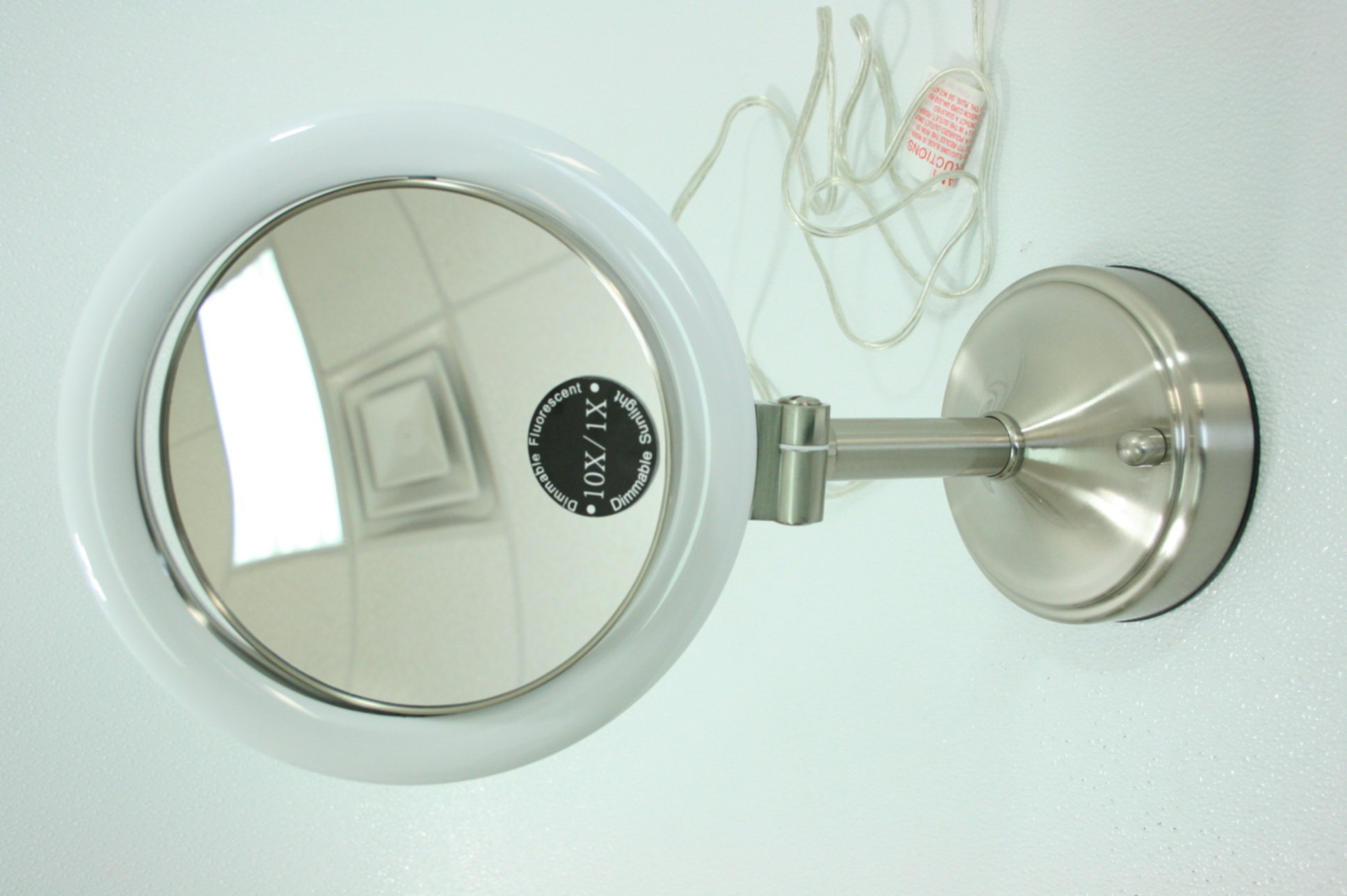 Zadro slv410 dimmable sunlight magnifying lighted vanity mirror image is loading zadro slv410 dimmable sunlight magnifying lighted vanity mirror aloadofball Image collections