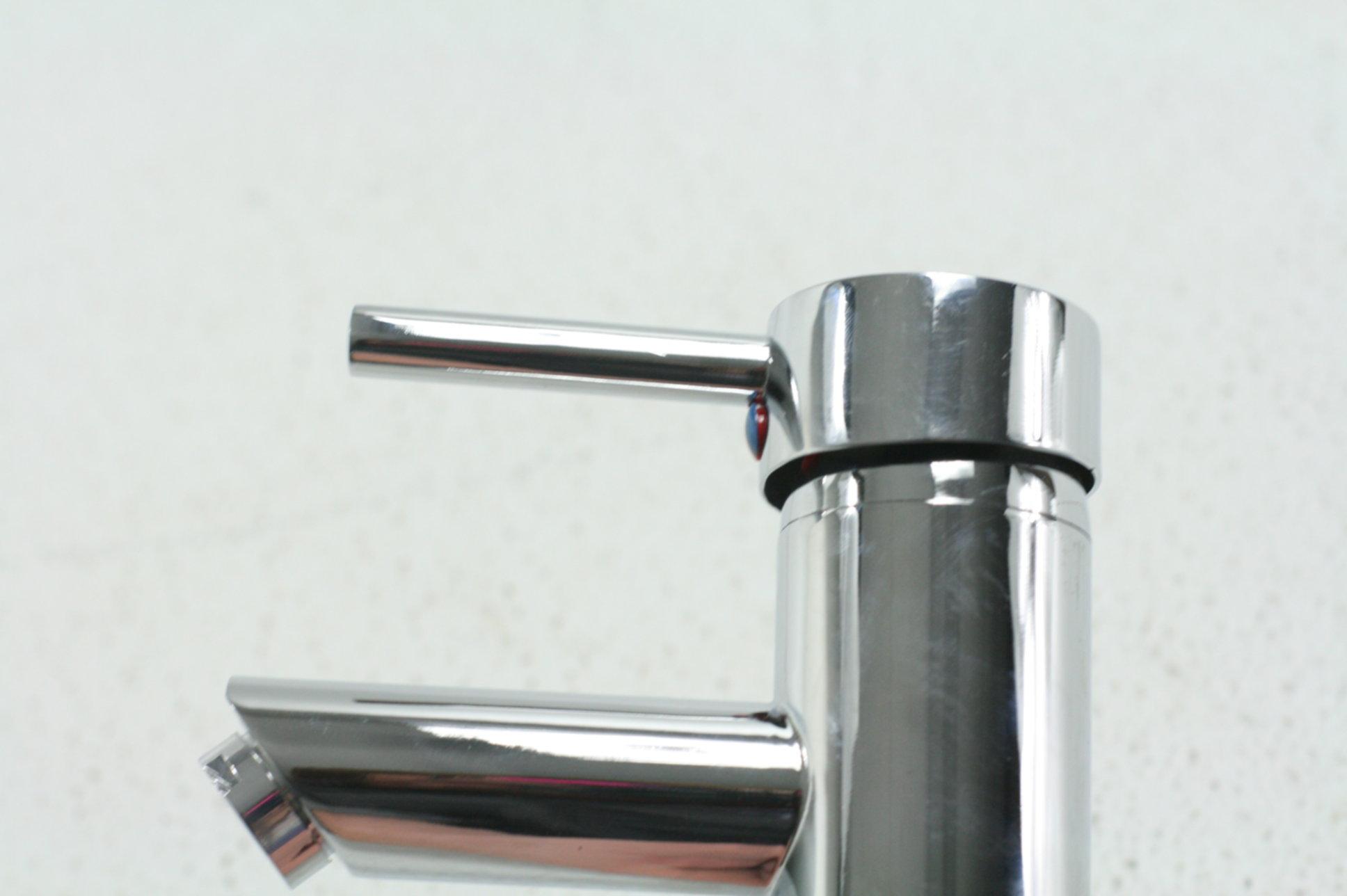 Delta faucet modern single handle bathroom faucet chrome 1 - Delta contemporary bathroom faucets ...