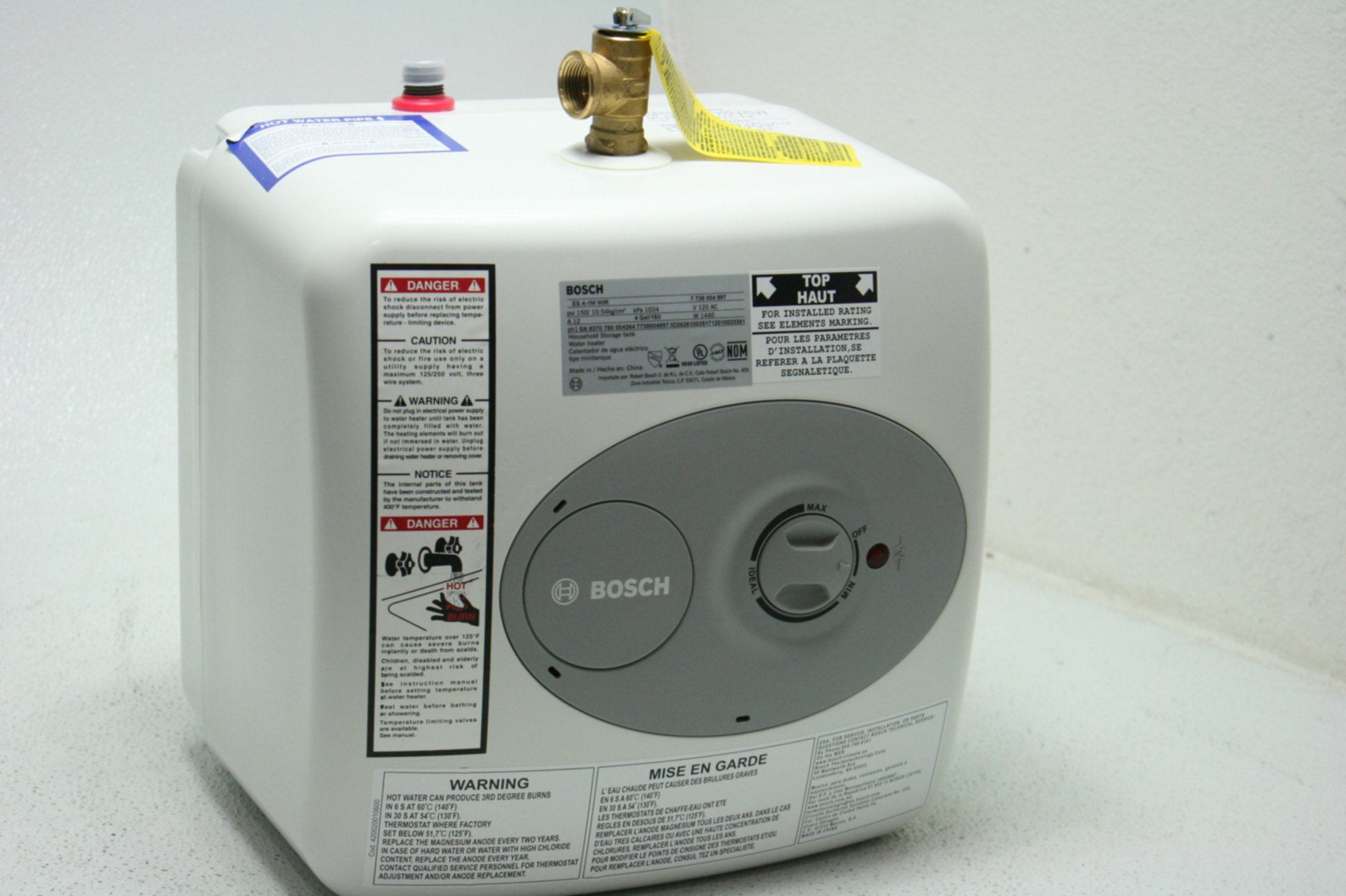 Bosch Es2 5 Point Of Use Electric Mini Tank Water Heater 2