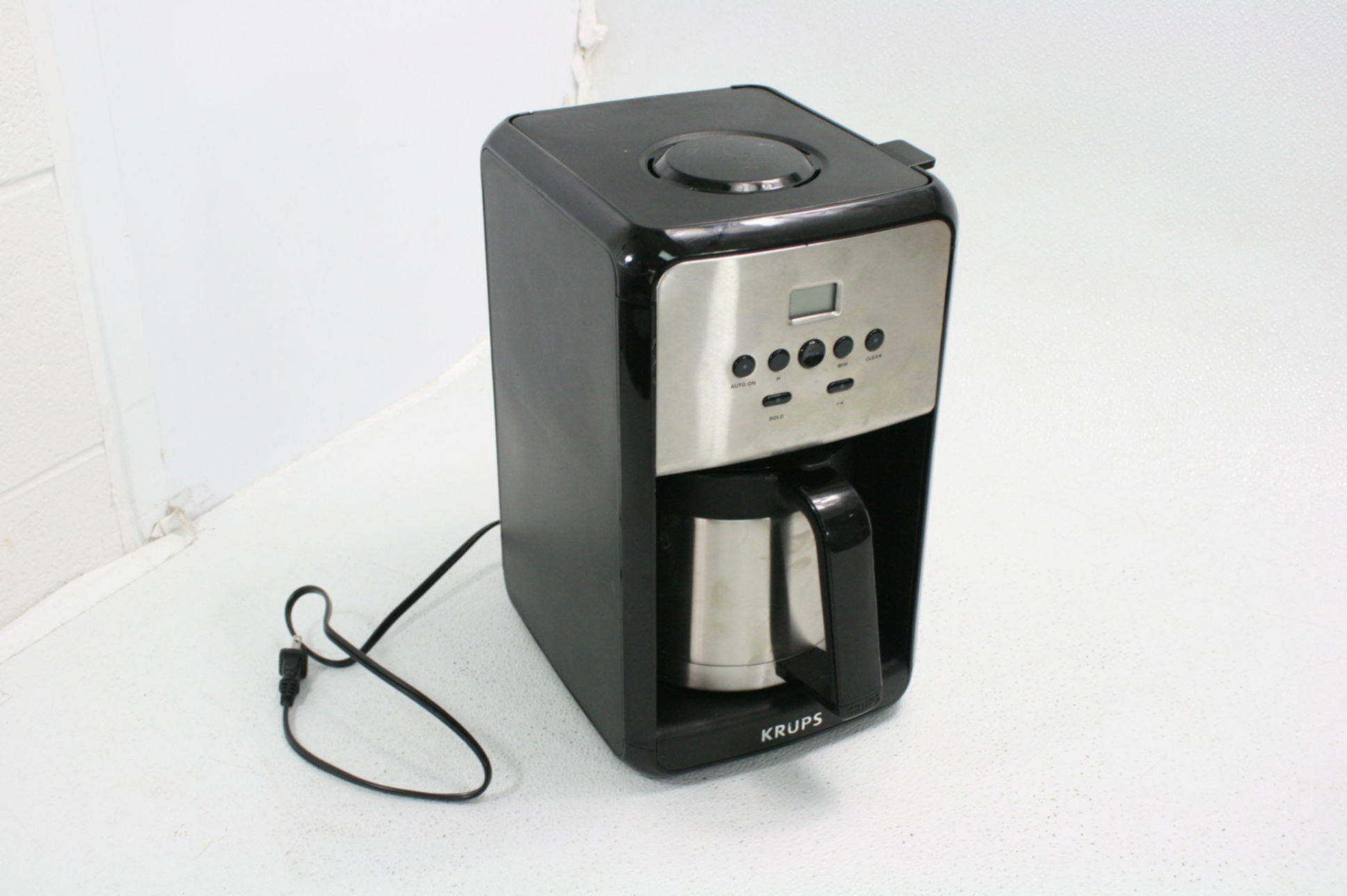 Krups Et351 Savoy Programmable Thermal Stainless Steel Filter Coffee