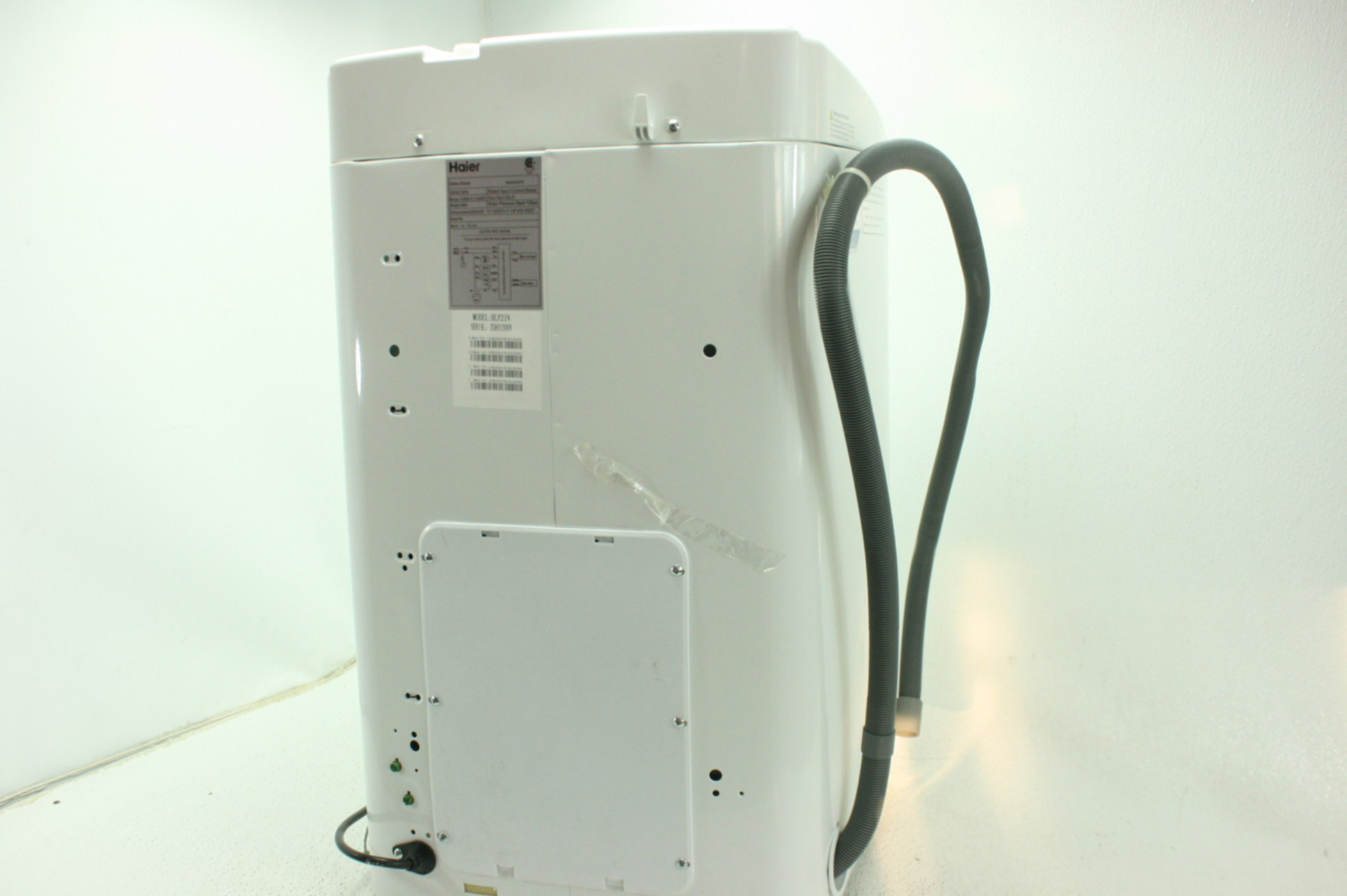 Details about Haier HLP21N Portable Top Load Washer Stainless Steel on