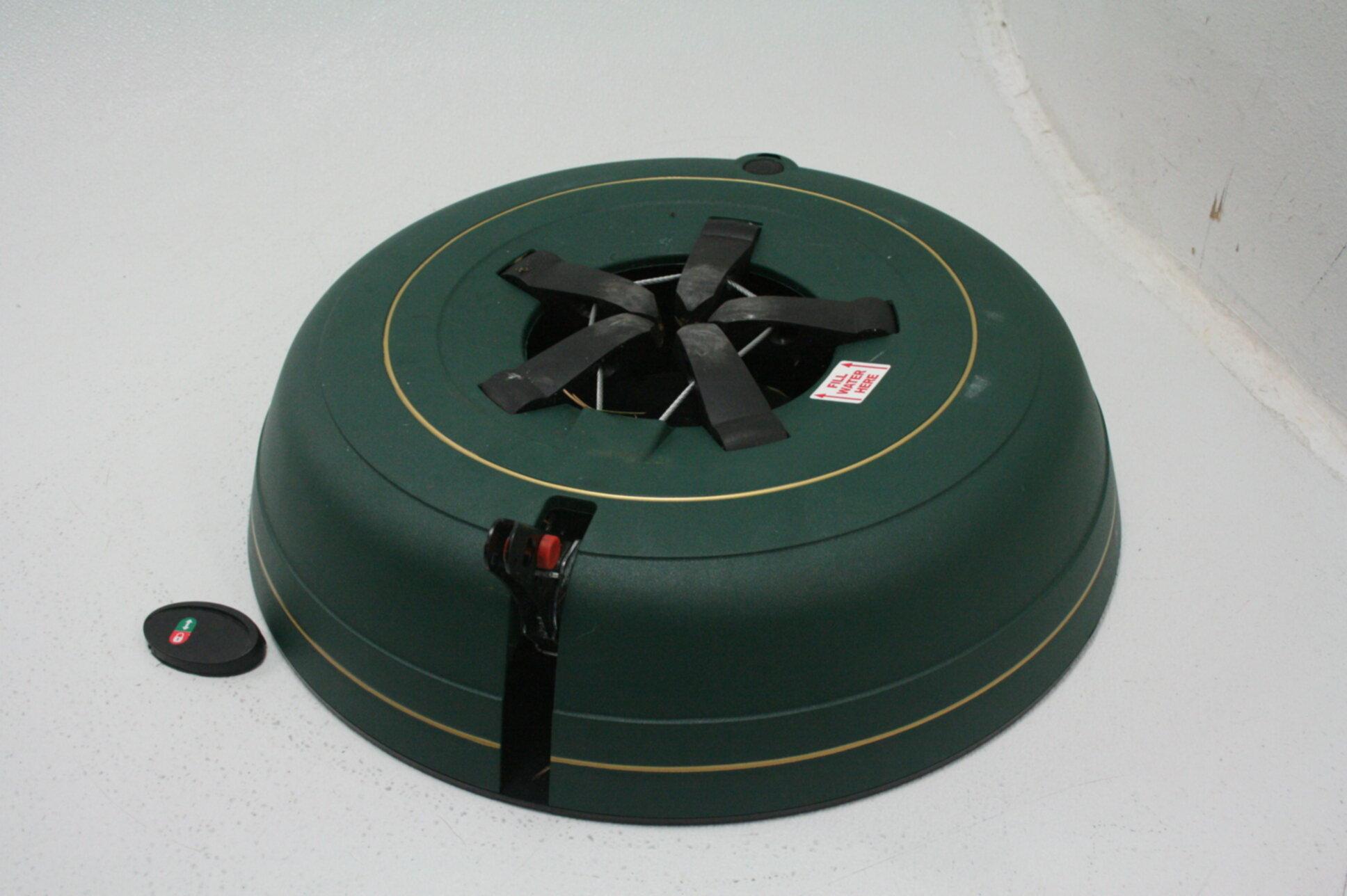 Krinner Tree Genie Tree Genie XXL Christmas Tree Stand Green Automatic Green   eBay