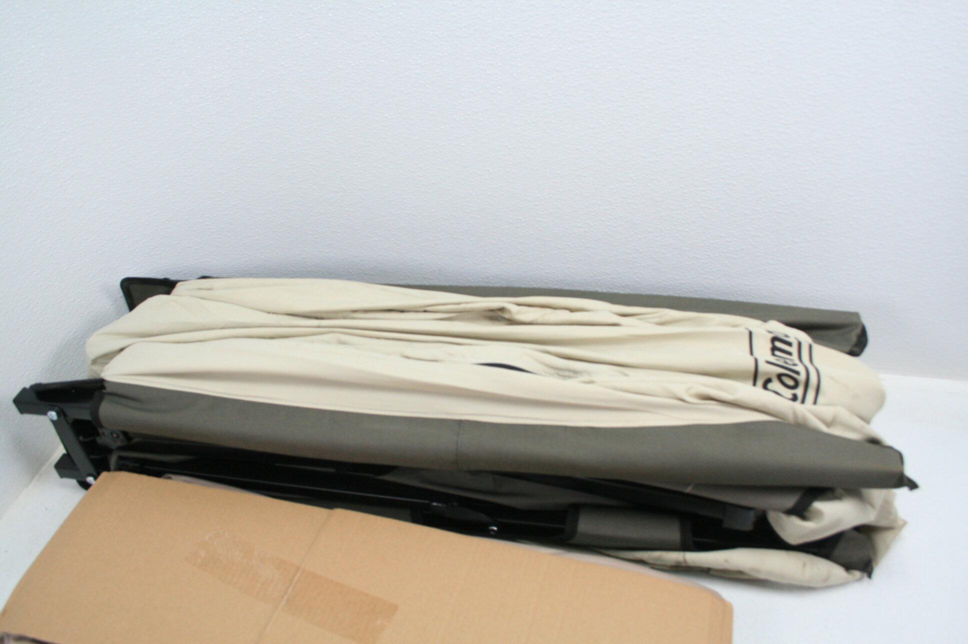 Coleman Camping Cot Air Mattress Pump Combo Folding Cot w ...